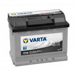 Car Battery Varta C14 black dynamic 56ah
