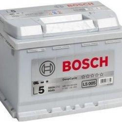 Battery Deep Cycle Bosch L5005 60AH