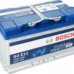 Car Battery Bosch EFB start-stop S4E11 80ah 315x175x190