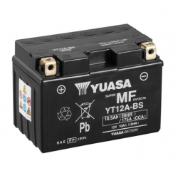 Motorcycle Battery Yuasa AGM  YT12A-BS