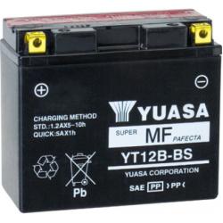 Motorcycle Battery Yuasa  YT12B-BS AGM (GT12B-BS,UT1B2-BS)