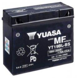Motorcycle Battery Yuasa  AGM YT19BL-BS