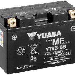 Motorcycle Battery Yuasa AGM YT9B-BS
