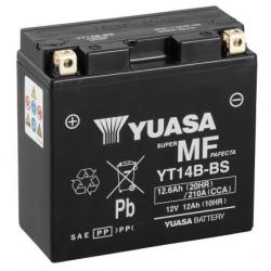 Motorcycle Battery Yuasa  AGM YT14B-BS