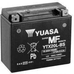 Motorcycle Battery Yuasa  AGM YTX20L-BS