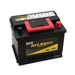 Car Battery Atlas 55Ah MF Calcium+