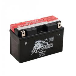 Motorcycle Battery Power AGM YT7B-BS (YT7B-4, GT7B-4, PT7B-4, UT7B-4, GT7B4)