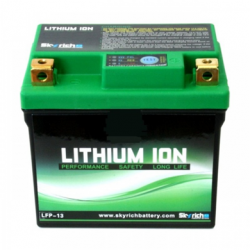 Motorcycle Battery Skyrich lithium LFP-13 (START-STOP) 12v 4,5Ah