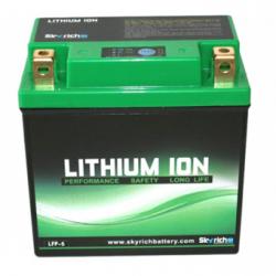 Motorcycle Battery Skyrich lithium  LFP-5 12v 11-14ah