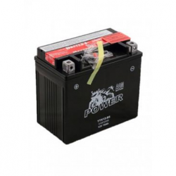 Motorcycle Battery Power AGM YTX12-BS (YTX12-4, GTX12-BS,UTX12-BS, 12BS)