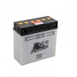 Motorcycle Battery Power DRY 51814 (12Y16A-3B) 19Ah