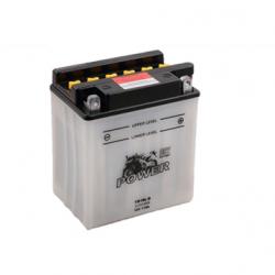 Motorcycle Battery Power Dry YB10L-B (12N10-3B, YB10L-B2)