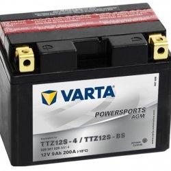 Motorcycle Battery Varta Powersports AGM TTZ12S-4/TTZ12S-BS 9Ah